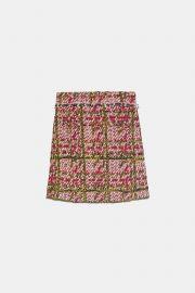 Check Skirt by Zara at Zara
