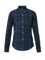 Check shirt by Band of Outsiders at Matches