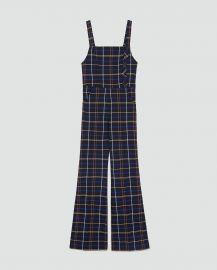 Checked Overalls by Zara at Zara