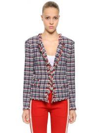 Checked Tweed Jacket by Isabel Marant Etoile at Luisaviaroma