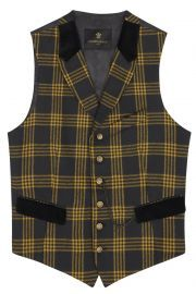 Checked Vest by Lords and Fools at Lords and Fools