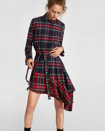 Checked and Ruffled Tunic by Zara at Zara
