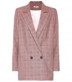 Checked blazer at MyTheresa