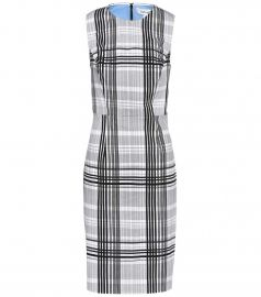 Checked cotton dress at Mytheresa
