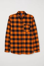 Checked flannel shirt at H&M
