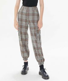 Checkered Cargo Jogger Pant by Urban Outfitters at Urban Outfitters