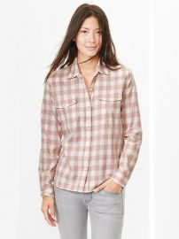 Checkered Western Shirt at Gap