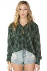 Checkered shirt by See you monday at Amazon