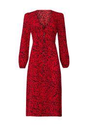 Cheetah Dress by Caara at Rent The Runway
