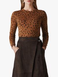 Cheetah Printed Sparkle Knit at John Lewis