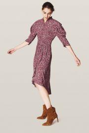 Chelsea Abstract Floral-Print Dress at Ba&Sh