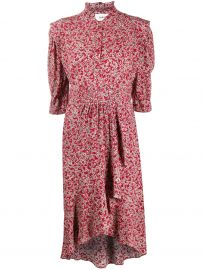 Chelsea Abstract Floral-Print Dress by Ba Sh at Farfetch