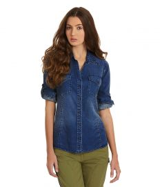 Chelsea and Violet Chambray Shirt at Dillards