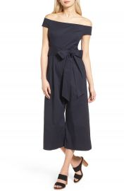 Chelsea28 Off the Shoulder Culotte Jumpsuit at Nordstrom