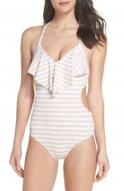 Chelsea28 Ruffle One-Piece Swimsuit at Nordstrom