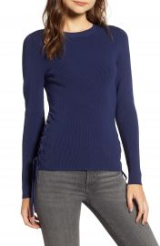 Chelsea28 Side Tie Sweater at Nordstrom