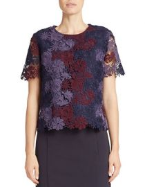 Chemical Lace Tee at Lord & Taylor