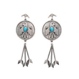 Cher Thunderbird Earrings at The2Bandits