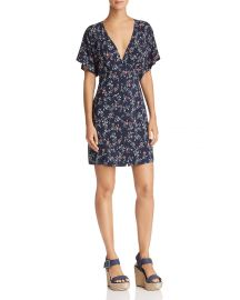 Cherelle Plunging Floral Dress at Bloomingdales