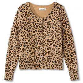 Cherokee Leopard Cardigan at Target