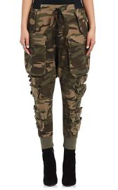 Camouflage Cotton-Blend Cargo Pants by Ben Taverniti Unravel Project at Barneys