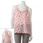 Cherry print top by Candies at Kohls