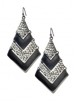 Chevron earrings by Tinley Road at Piperlime