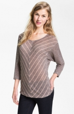 Chevron stripe dolman tee by Olivia Moon at Nordstrom