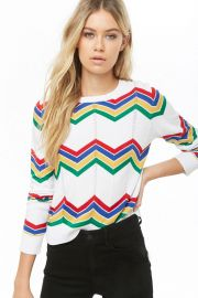 Chevron sweater at Forever 21