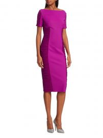 Chiara Boni La Petite Robe - Dary Illusion Sheath Dress at Saks Fifth Avenue