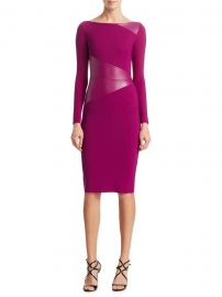 Chiara Boni La Petite Robe - Off-The-Shoulder BodyCon Dress at Saks Fifth Avenue