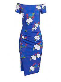 Chiara Boni La Petite Robe - Devis Off-The-Shoulder Dress at Saks Fifth Avenue