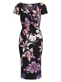 Chiara Boni La Petite Robe - Illye Floral Print Sheath Dress at Saks Fifth Avenue