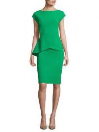 Chiara Boni La Petite Robe - Porzia Peplum Sheath Dress at Saks Fifth Avenue