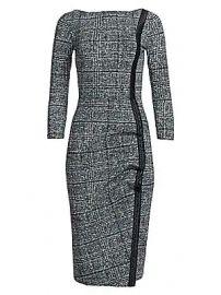 Chiara Boni La Petite Robe - Rosmarijn Checked Dress at Saks Fifth Avenue