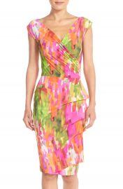 Chiara Boni La Petite Robe Egea Print Jersey Sheath Dress at Nordstrom