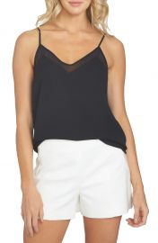 Chiffon Inset Camisole at Nordstrom