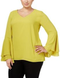 Chiffon Top by Alfani at Macys