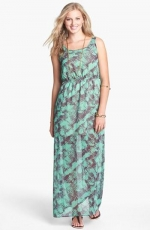 Chiffon maxi dress by Dee Elle at Nordstrom