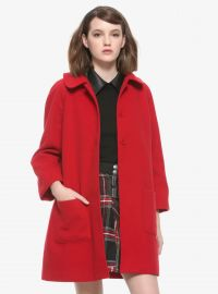 Chilling adventures of Sabrina Red Coat at Hot Topic