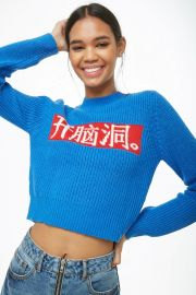 Chinese Knit Sweater at Forever 21