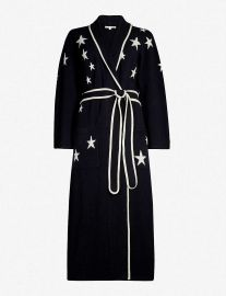 Chinti & Parker Star Intarsia Dressing Gown at Selfridges