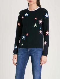 Chinti & Parker Star-intarsia cashmere jumper at Selfridges