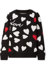 Chinti and Parker   Confetti Heart knitted sweater at Net A Porter