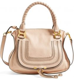 Chlo     x27 Medium Marcie  x27  Leather Satchel at Nordstrom