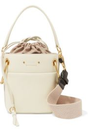 Chlo   - Roy mini leather bucket bag at Net A Porter