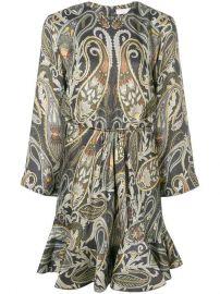 Chlo  233  Paisley-print Dress - Farfetch at Farfetch