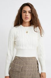 Chloe Knit Sweater by Urban Outfitters at Urban Outfitters