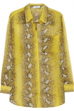 Chloe's yellow blouse at Net A Porter