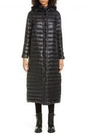 Chocolat Long Hooded Down Puffer Coat at Nordstrom